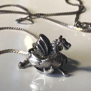 🐉 hatching dragon pendant necklace